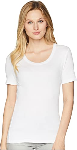 Shine Short Sleeve Scoop Neck Tee