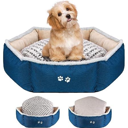 DEI Bone Pet Bed 23.5x13.5 Multicolored