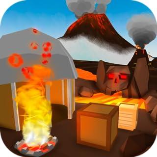 Volcano Island Survival 3D