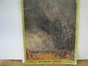 Kunst Dem Volk Wein August/September 1942 Art of the National Monthly for Visual and Performing Arts Architecture and Crafts 12 Year Special Issue Great German Art Munchen 1942