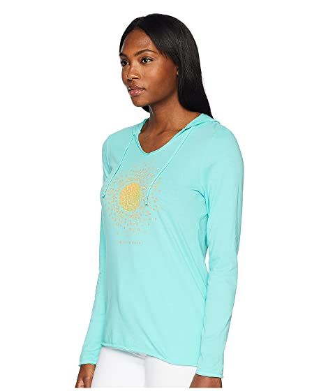 capucha Good con Cool Life Love is Aqua Camiseta lisa Sun nUw0vPaq