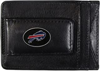 Siskiyou Sports NFL Leather Money Clip Cardholder