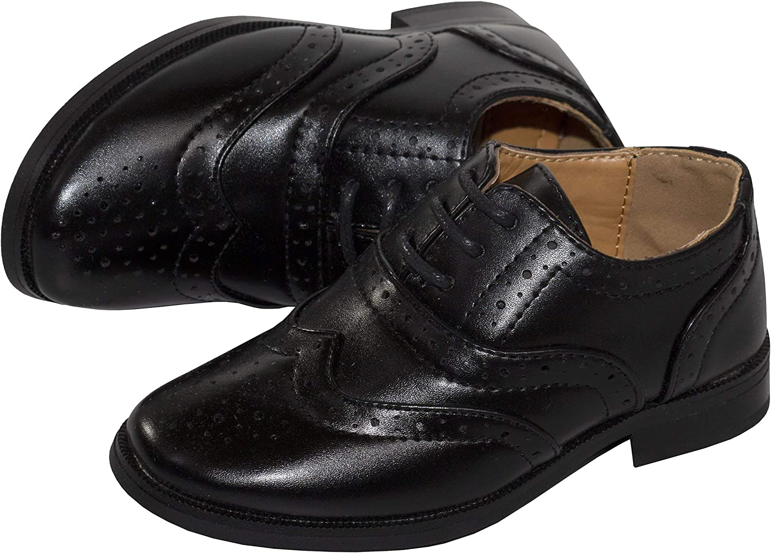Tip Top Boys Oxford Lace Up Dress Shoe