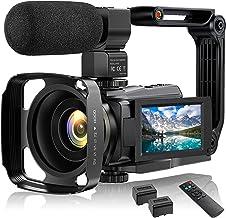 4K Video Camera Camcorder UHD 48MP WiFi IR Night Vision...