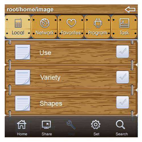 File Expert Wood Theme