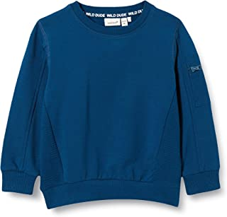 NAME IT NMMOLAS LS SWEAT BRU jongens Pullover trui
