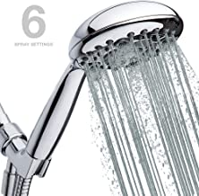 High-Pressure Handheld Shower Head 6-Setting - Luxury 5