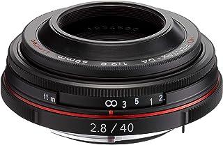 PENTAX リミテッドレンズ パンケーキレンズ 標準単焦点レンズ HD PENTAX-DA40mmF2.8 Limited ブラック Kマウント APS-Cサイズ 21390