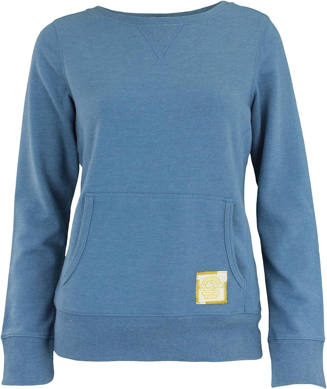 Reebok Retro Sport Womens Casual Sweatshirt, Blue