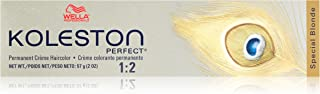 Wella Koleston Perfect Permanent Creme Hair Color, 12/0 Special Blonde/Natural, 2 Ounce