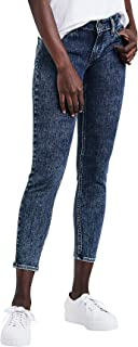 LEVI'S Womens Blue Super Skinny Cropped Jeans US Size: 6
