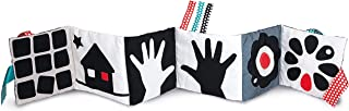 Clementoni 17322 You-17322-Black & White Soft Book Toddlers, New-Born Baby Toys Suitable for 0 Months and Older, Multi-Colour