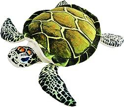 Athoinsu Realistic Sea Turtle Stuffed Animals Ocean Life Tortoise Plush Toy Throw Pillow Birthday for Toddler Kids, 18''