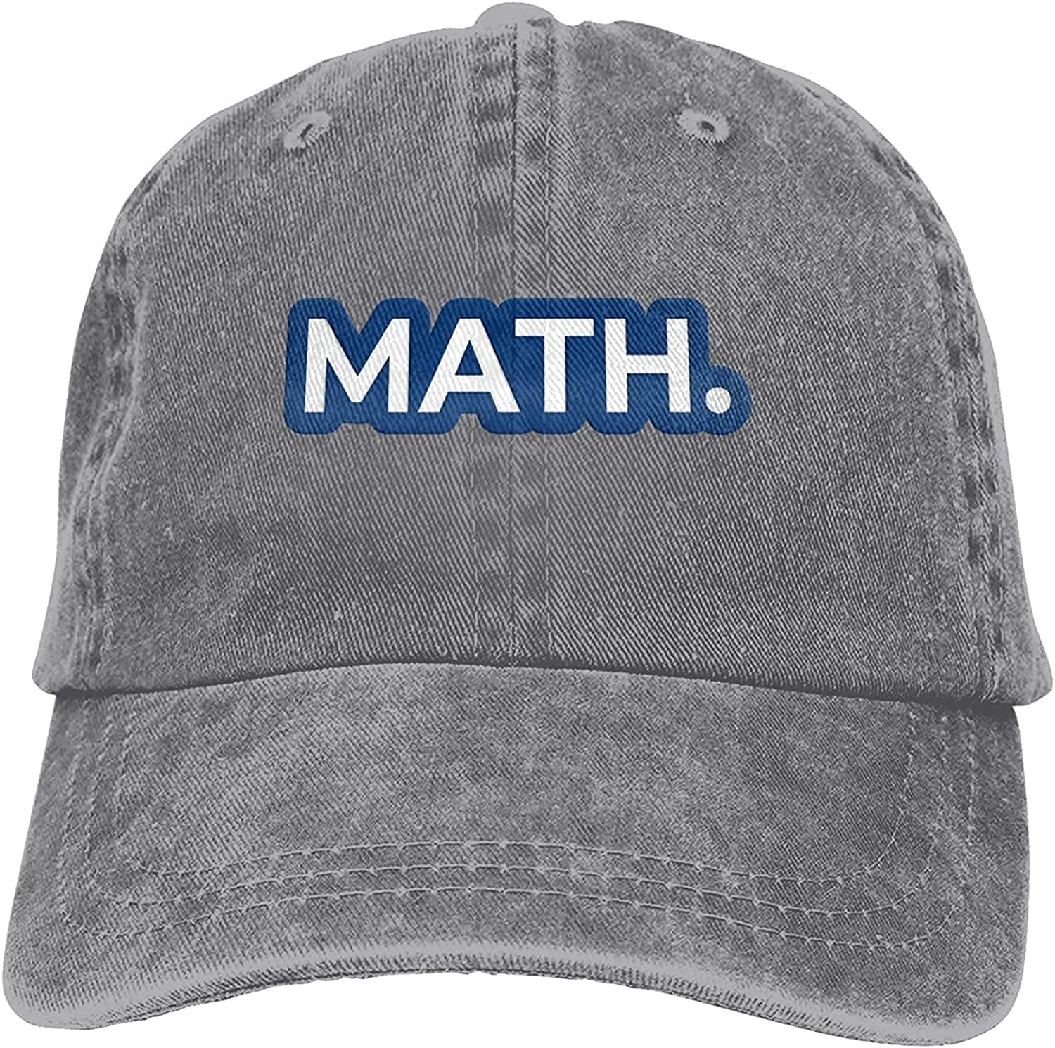 Math Andrew Yang Outdoor Men's Baseball Cap Sports and Leisure Adjustable Cowboy Hat Performance Cap Red