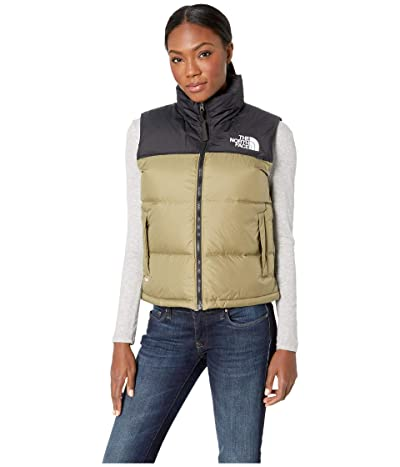 The North Face 1996 Retro Nuptse Vest (Tumbleweed Green) Women