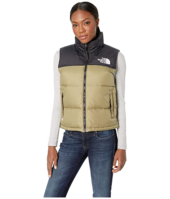 The North Face  1996 Retro Nuptse Vest (Tumbleweed Green) Womens Vest