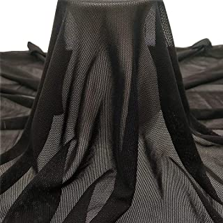 Best black mesh fabric Reviews