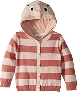 Vita Face Striped Cardigan (Infant)