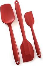 Norpro 3 Piece Silicone Spatula Set - Red