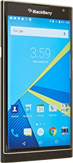 BlackBerry Priv STV100-1 32GB Unlocked GSM 4G LTE Quad-Core Slider Smartphone w/ 18MP Camera - Black (Renewed)