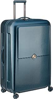 Delsey Paris Turenne 82 cm 4 Double Wheels Expandable Trolley Suitcase (Hardside), Blue (00162183002)