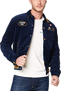 Deus Ex Machina Men's Team Cord Bomber, Estate/Golden