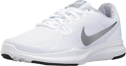 NIKE Wohommes in-Season 7 Training chaussures (9, blanc argent-M)