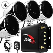 GoHawk TN4-Q 1000W 4 Channel Amplifier 4