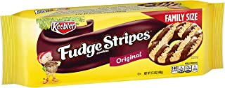 KeeblerFudge Stripes Cookies, Original, Family Size, 17.3 oz Tray