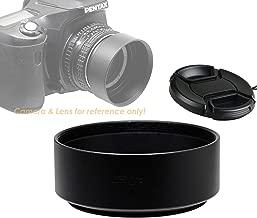 Fotasy Metal 49mm Lens Hood, 49mm Lens Hood for Canon Fuji Leica Leitz Nikon Olympus Panasonic Pentax Sony Lens, 49mm Screw-in Lens Hood