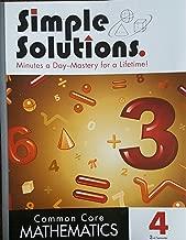 Simple Solutions, Common Core Mathematics, Level 4 Semester 2