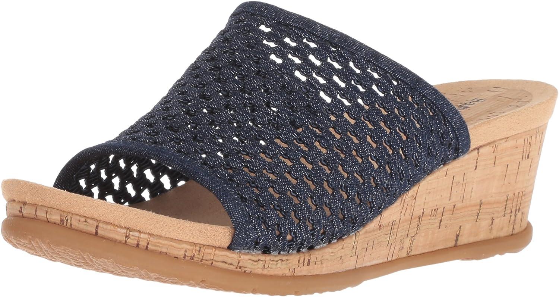 Baretraps Womens Flossey Slide Sandal