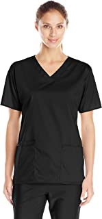 WonderWink Women's Wonderwork V-Neck Scrub Top