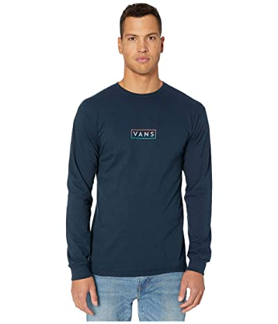Vans Easy Box Long Sleeve T-Shirt (Navy/Gradient) Men