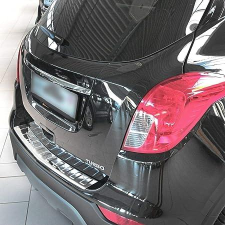 Tuning Art Bl952 Ladekantenschutz Mit Abkantung Für Opel Grandland X 2017 Farbe Silber Auto