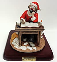 Spirit of Christmas IV Collectible Figurine Hand Signed by Emmett Kelly Jr.