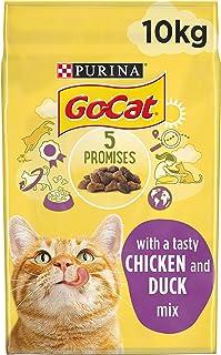 GO CAT ADULT Chicken & Duck Dry Cat Food, 10kg