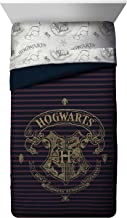 Jay Franco Spellbound Twin/Full Comforter (Offical Harry Potter Product), Multi