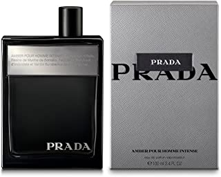 PRADA Amber Pour Homme Intense Eau De Parfum For Men, 3.4 Oz​