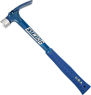 Estwing Ultra Series Hammer - 19 oz Rip Claw Framer with Smooth Face & Shock Reduction Grip - E6-19S