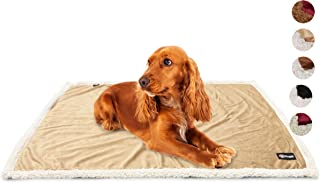 Pawsse Dog Blanket,Super Soft Sherpa Pet Blankets and Throws Sleeping Mat for Small Medium Doggies Puppy Animals 45