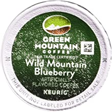 Keurig, Green Mountain Coffee, Wild Mountain Blueberry, K-Cup Counts, 50 Count