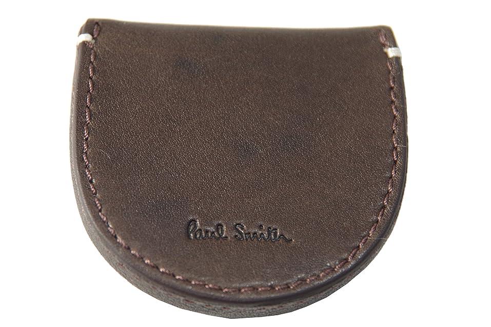 長方形トマトモールス信号ポールスミス Paul Smith 小銭入れ 財布 チョコ U30071 新品正規品
