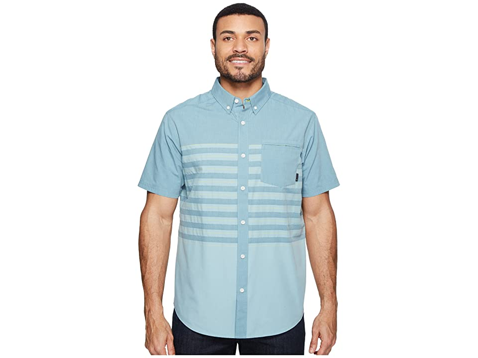 Mountain Hardwear Axton AC Short Sleeve Shirt (Cloudburst) Men