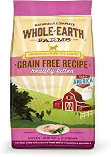 Whole Earth Farms Grain Free Recipe Dry Cat Food, Kitten