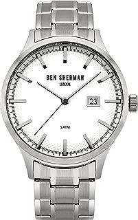 WB056SM Mens Spitalfields Sport Silver Steel Bracelet Watch