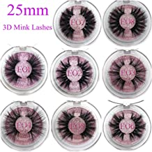 Barry-Story 25mm False Eyelashes Wholesale Thick Strip 25mm 3D Mink Lashes Custom Packaging Label Makeup Dramatic Long Mink Lashes,C,0.15mm,E07,Other