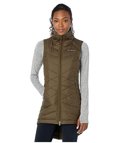 Columbia Heavenlytm Long Vest (Olive Green) Women