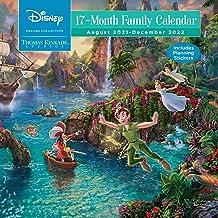 Disney Dreams Collection by Thomas Kinkade Studios: 17-Month 2021–2022 Family Wa