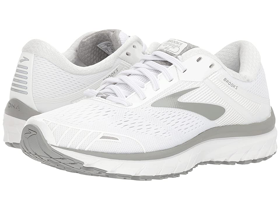 Brooks Adrenaline GTS 18 (White/White/Grey) Women